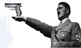 Hitler with Guns