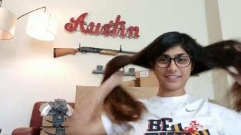 Mia Khalifa's gun