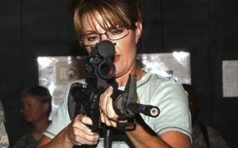 Sarah Palin Guns